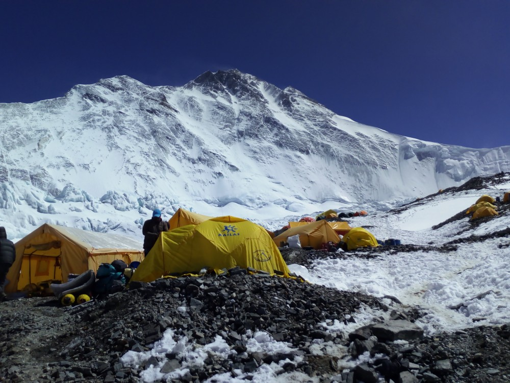Everest campo base