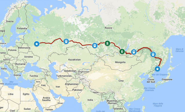Viaggi in Kamchatka e Transiberiana, Viaggio lungo la